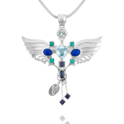 Archangel Michael pendant Archangel Michael necklace
