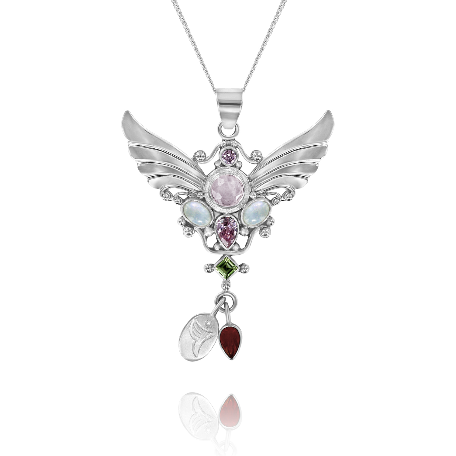 Angel Jewellery Angel of Fertility Silver Necklace with Chain