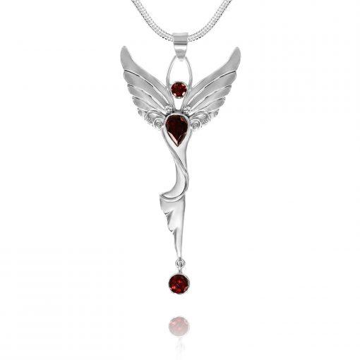 dancing angel pendant
