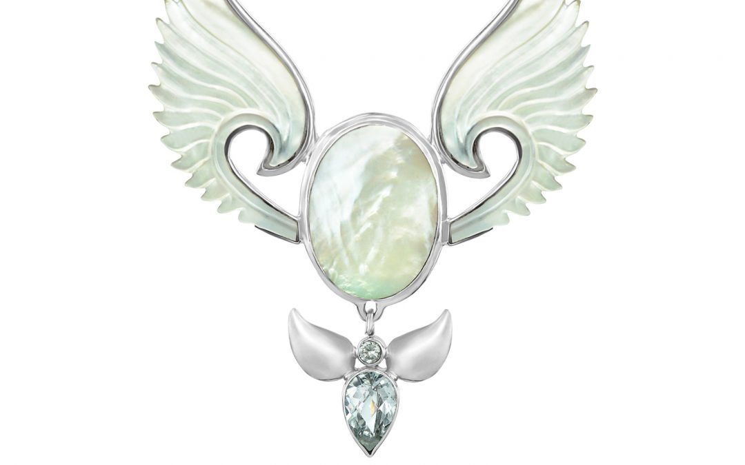 Divine Feminine Angel Necklace