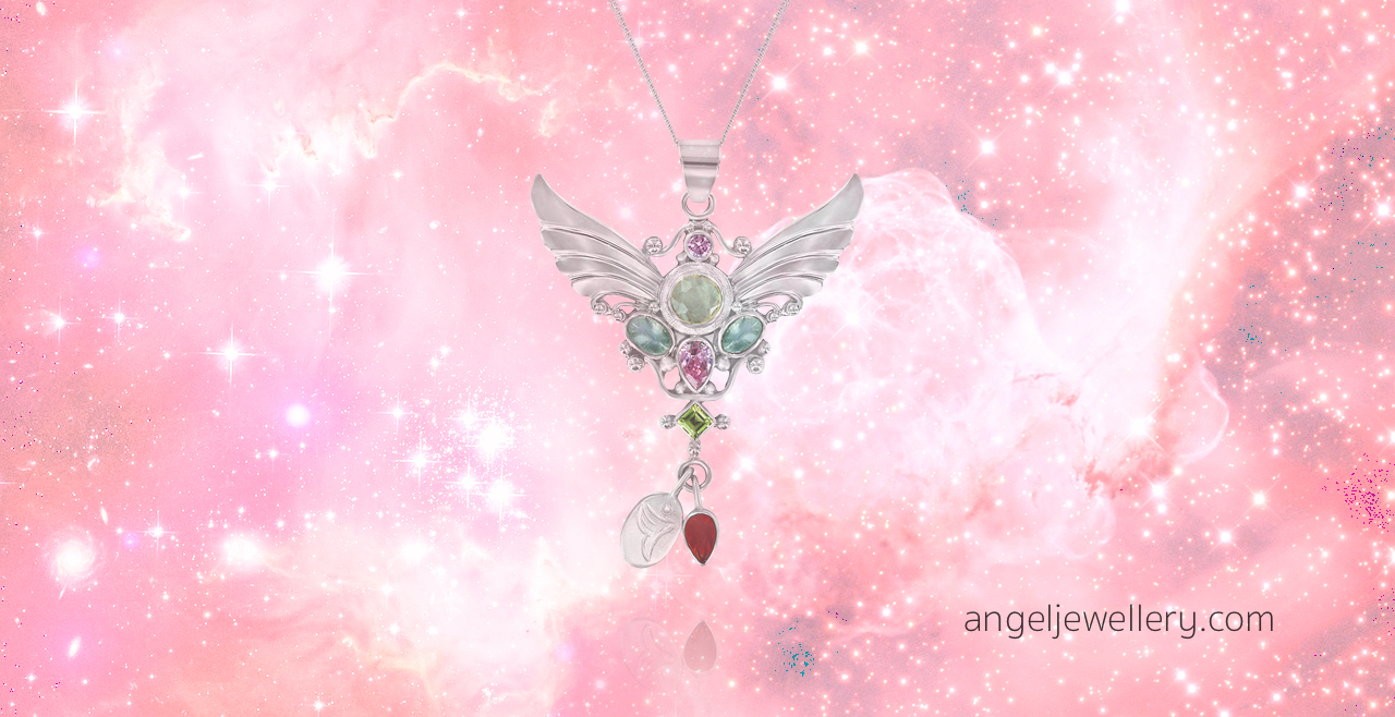 fertility angel pendant for mothers and mums to be