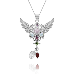 fertility angel pendant for mothers