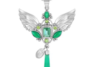 connect with Archangel Raphael Necklace and his 5 gemstones