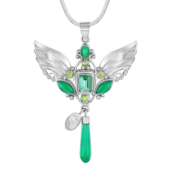 Archangel Raphael Necklace and his 5 gemstones