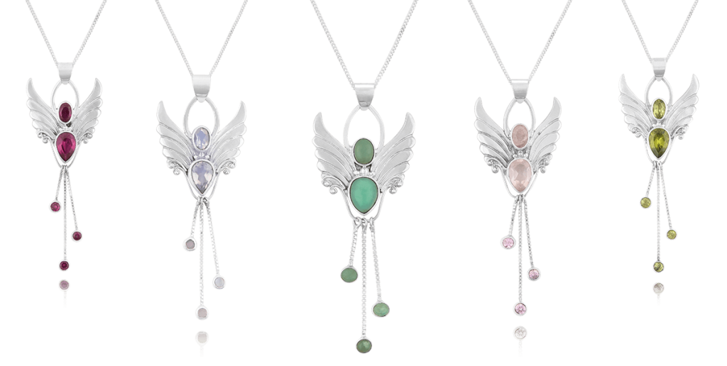 angel pendants angel crystals with spiritual qualities