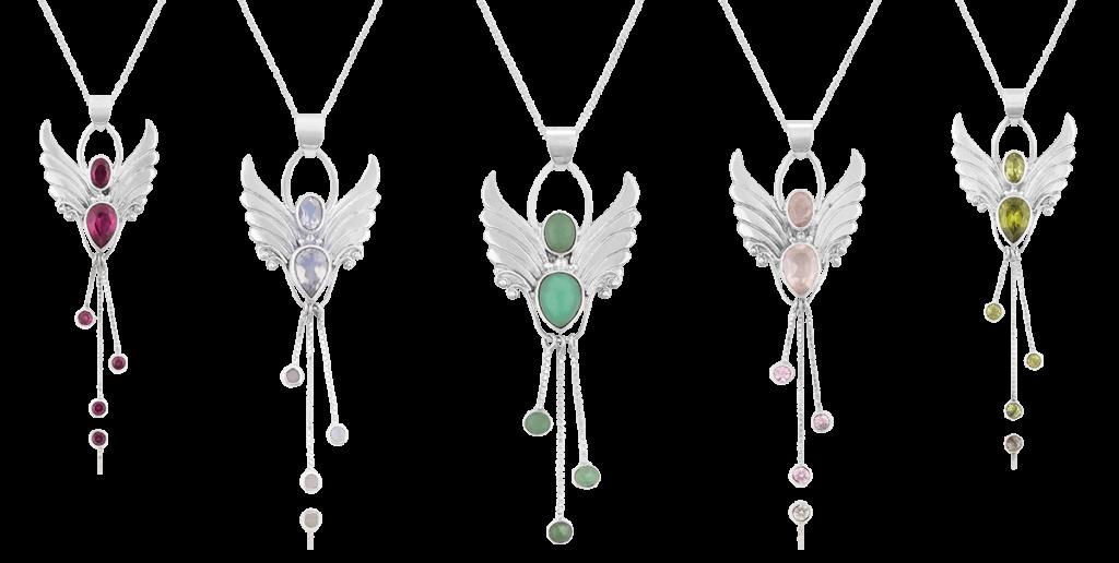 angel pendants angel crystals with spiritual qualities