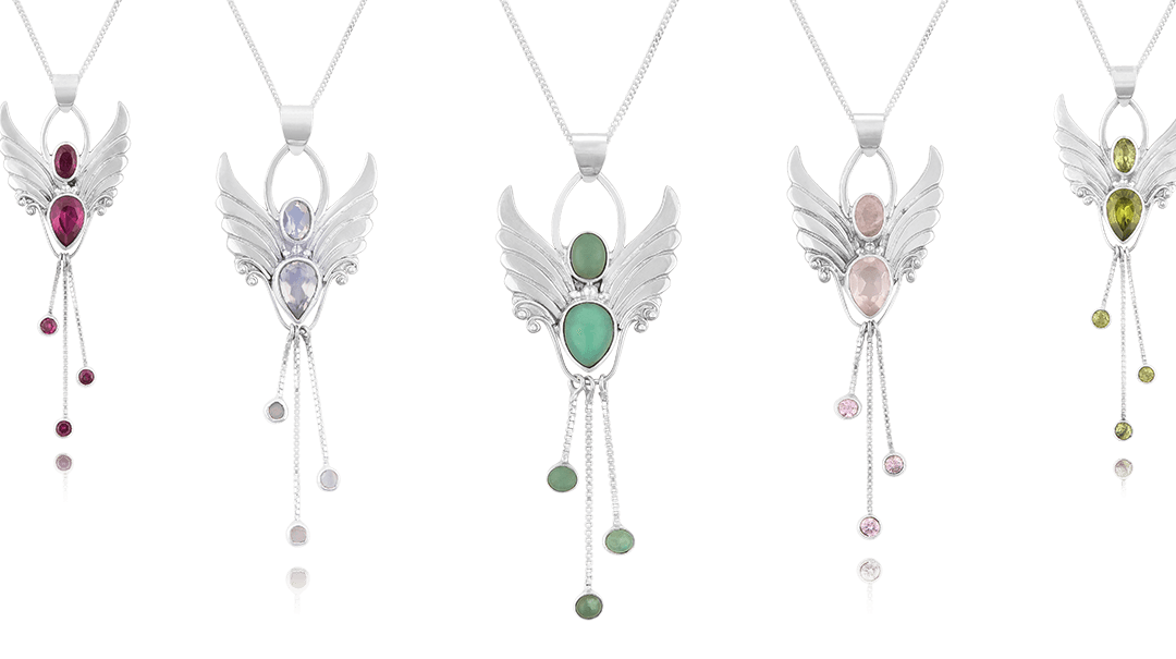 Crystal Angel Jewellery For Spiritual Connection, Health and Transformation.