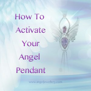how to activate your angel pendant