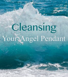 cleanse your angel pendant