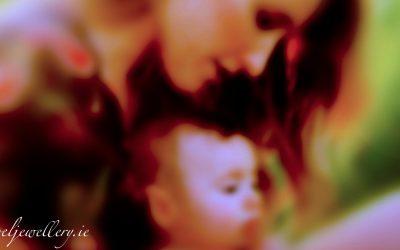 Angel Necklace For Motherhood, Celebrating And Nurturing.