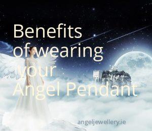 benefits of wearing an angel pendant
