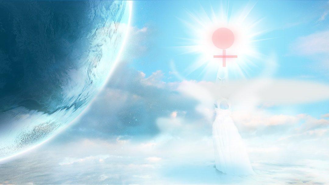 Angels Illuminate Your Divine Feminine