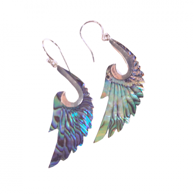 Angel Wing Earrings Jewelry