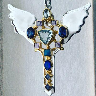 Michael Archangel Necklace Pendant